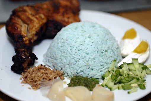 Ayam Bakar Nasi Kerabu