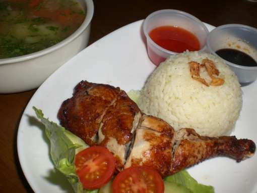 Nasik Ayam (sedap niiii)